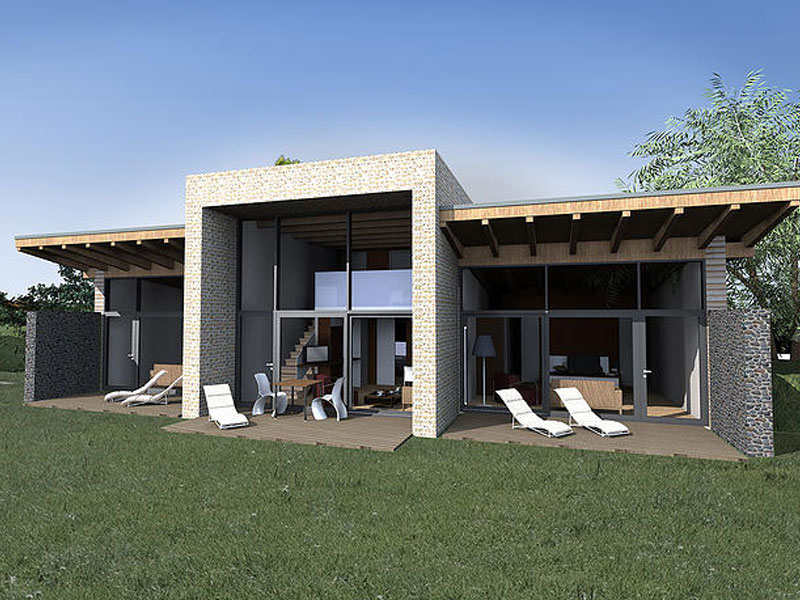 Leitzinger Bau Golfclub Hotel-Appartementanlage 3452 Atzenbrugg