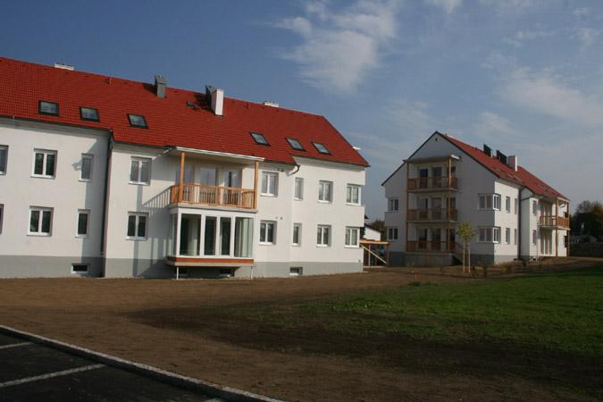 Leitzinger Bau – Wohnhausanlage der GEDESAG 3243 St. Leonhard / Forst