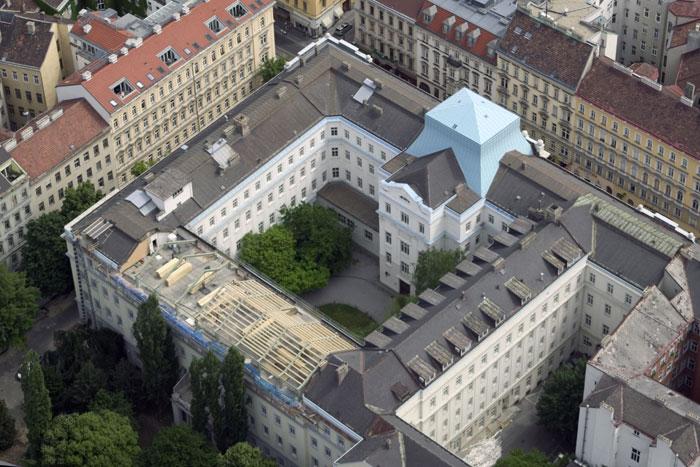 Leitzinger Bau – KPMG Zu- & Umbau eines Bürogebäudes Porzellangasse 1090 Wien