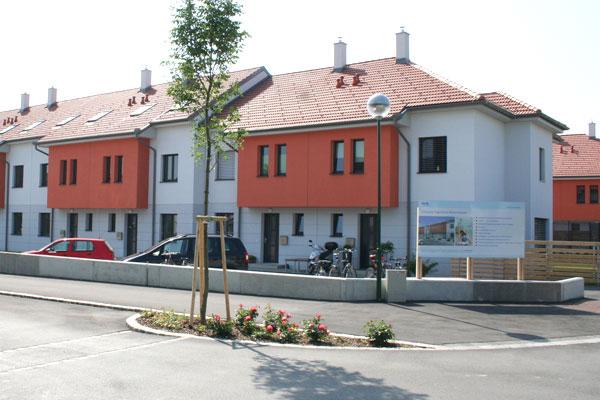 Leitzinger Bau – ÖVW Reihenhausanlage Kirschenallee 3430 Tulln