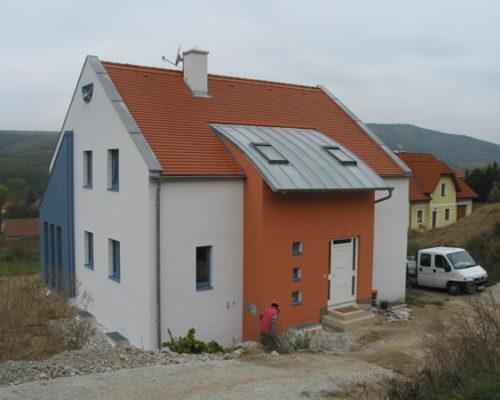 Leitzinger Bau – Einfamilienhaus Schönberg am Kamp 3562 Schönberg