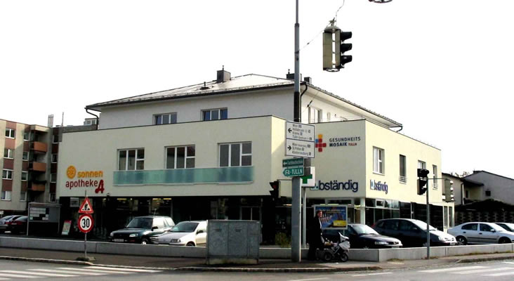 Leitzinger Bau – Apotheke & Ärztezentrum 3430 Tulln