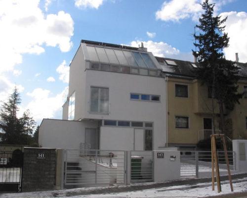 Leitzinger Bau – Einfamilienhaus Anton Kriegergasse Wien